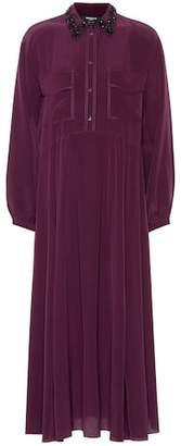 Rochas Silk shirt dress