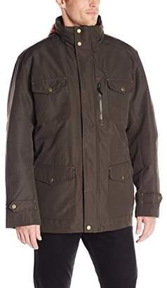 London Fog Men's Brogan Three-in-One Field Coat with Hidden Hood