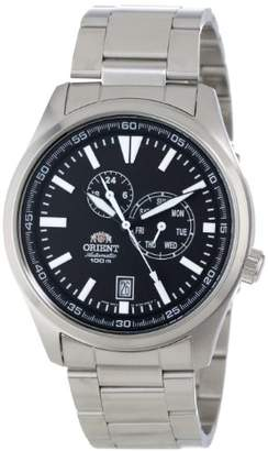 """Orient Men's FET0N001B0 """"Defender"""" Stainless Steel Automatic Watch"""