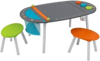 Kid Kraft Chalkboard Art Table & Stool 3-piece Set