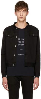 Robert Geller Black Denim Jacket