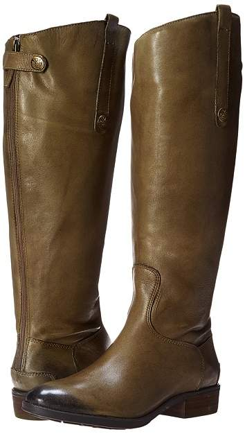 Sam Edelman - Penny 2 Wide Calf Women's Zip Boots