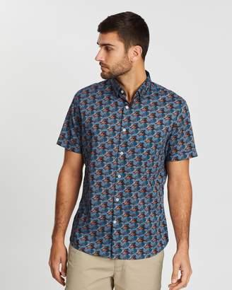 Sportscraft Short Sleeve Tapered Mike Liberty Shirt