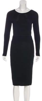 Jonathan Simkhai Long Sleeve Knee-Length Dress
