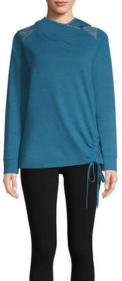 ST. JOHN'S BAY SJB ACTIVE Active Long Sleeve French Terry Hoodie