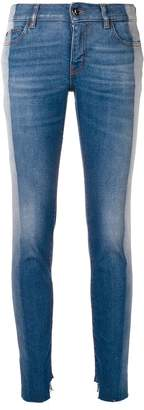 Just Cavalli contrasting side panels skinny jeans