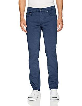 "Bugatchi Men's Five Pocket Cotton Stretch Pants 34"" Inseam"