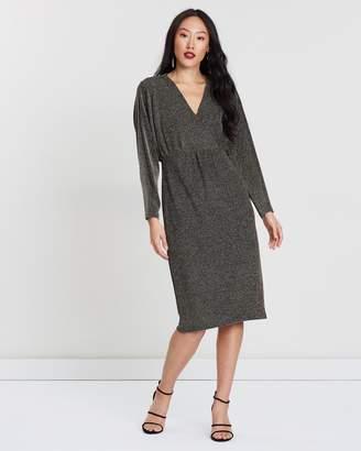 Wallis Sparkle Batwing Dress