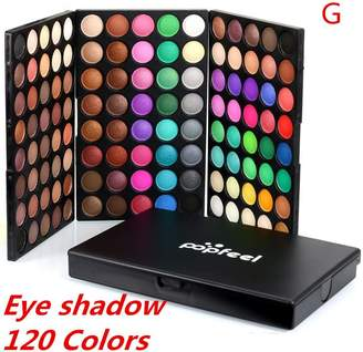 Han Shi Makeup Palette, 120 Colors Cosmetic Powder Cream Eyeshadow Matt Makeup Set (, L)