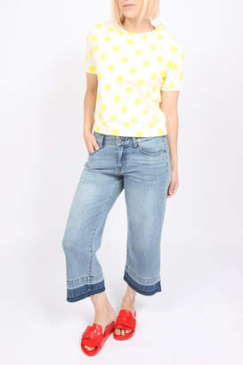 Liverpool Jeans Company Wide-Leg Cropped Jean