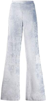 Genny corduroy flared trousers
