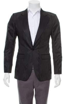 Dolce & Gabbana Jacquard Single Button Blazer w/ Tags