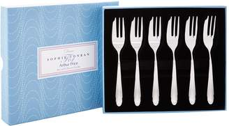 Sophie Conran Arthur Price Of England Dune Stainless Steel Pastry Forks (Set Of 6)