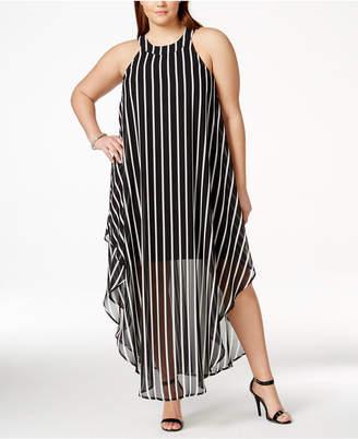 Love Squared Plus Size Maxi Shift Dress