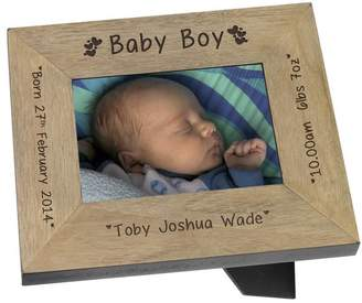 Keepsake BabyFish Baby Boy Personalised Frame