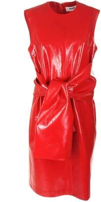 MSGM Belt-tie Waist Dress