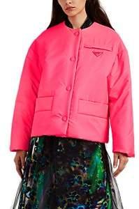 Prada Women's Tech-Twill Jacket - Pink