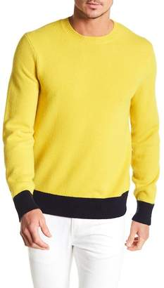 Rag & Bone Victor Colorblock Crew Neck Pullover