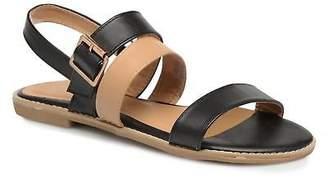 Factory Women's Divine Decorbe Sandals in Black