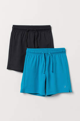 H&M 2-pack sports shorts