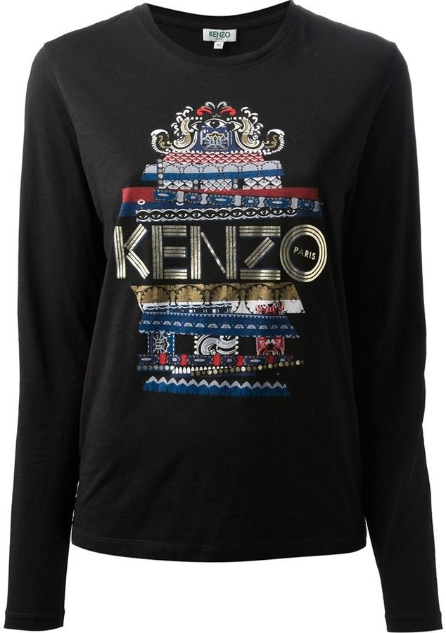 Kenzo 'Eye' long sleeve shirt