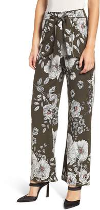 Sentimental NY Techno Crepe Wrap Pants