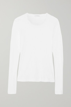 James Perse - Slub Cotton Top - White $75 thestylecure.com