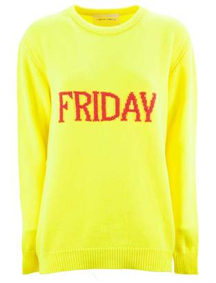 Alberta Ferretti friday Yellow Long Pullover