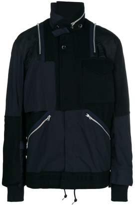 Sacai patchwork jacket