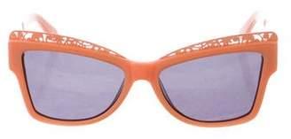 Karen Walker Atomic Tinted Sunglasses