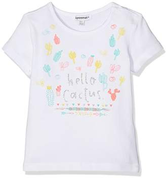 3 Pommes Baby Girl's Rosa Mexica T-Shirt,(Manufacturer Size:9/12M)