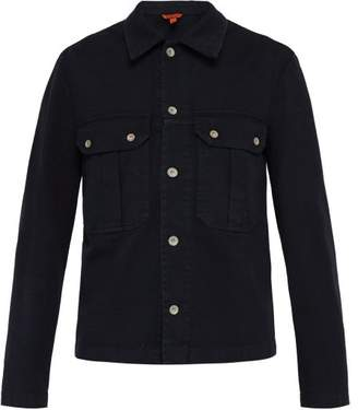 Barena venezia Venezia - Cotton Blend Overshirt - Mens - Navy