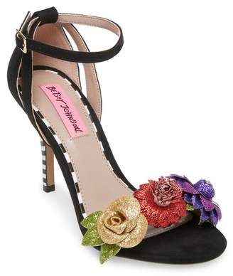 Betsey Johnson Cruz Floral Sandal