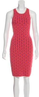 Jonathan Simkhai Textured Bodycon Dress w/ Tags Coral Textured Bodycon Dress w/ Tags