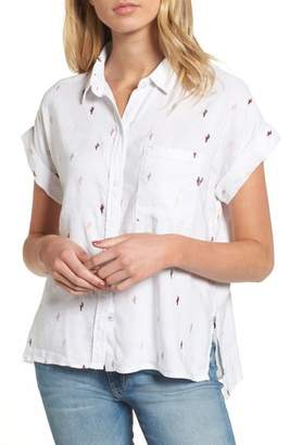 Rails Whitney Cactus Print Shirt