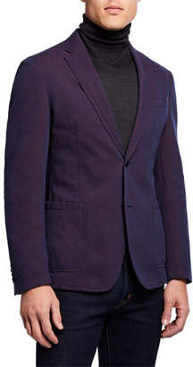 BOSS Men's Washed Unlined Sport Coat