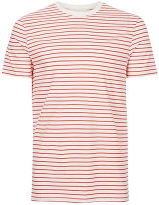 Red And White Stripe T-Shirt $20 thestylecure.com