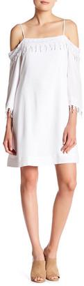 Kensie Cold-Shoulder Shift Dress $89 thestylecure.com