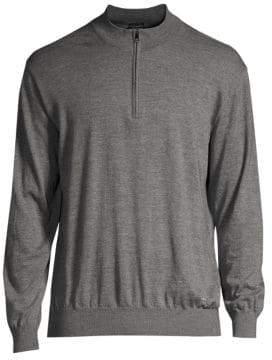 Paul & Shark Knit Quarter-Zip Sweater
