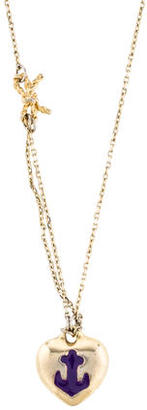 Giles & Brother Anchor Heart Pendant Necklace $75 thestylecure.com