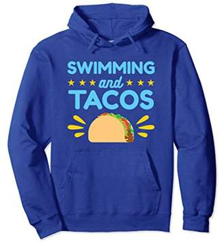 Taco Swimming Shirt Hoodie For Swimmers