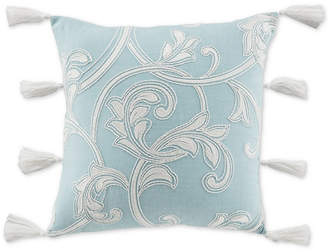 "Croscill CLOSEOUT! Willa Square 18"" x 18"" Decorative Pillow"