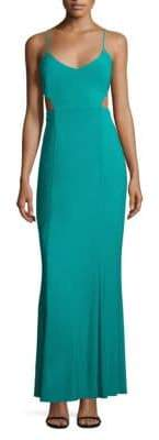 Laundry by Shelli Segal Cutout Gown
