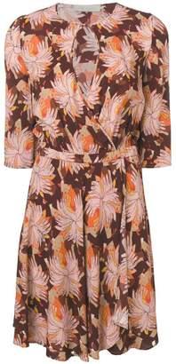 L'Autre Chose buttoned neck dress