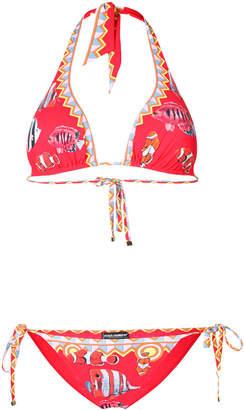 Dolce & Gabbana tropical fish print bikini