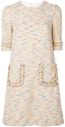 Talbot Runhof tween shift dress