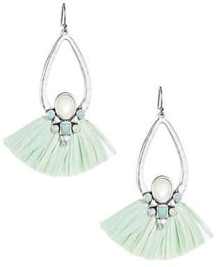 Lucky Brand Crystal Drop Earrings