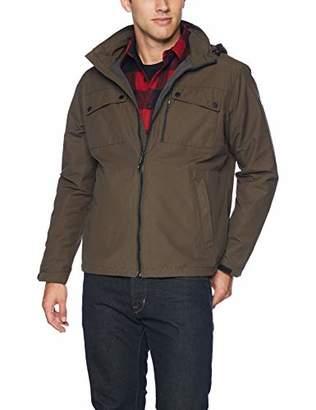 Hawke & Co Men's RAIN Defender Field Jacket with Hood