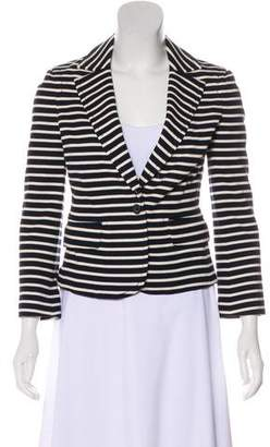 Tory Burch Stripes Knit Blazer