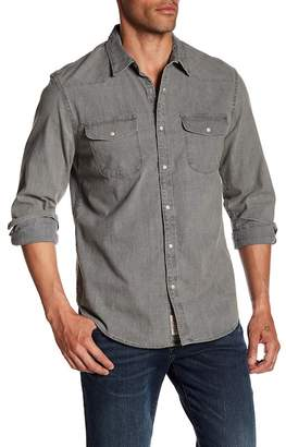 Lucky Brand Western Chambray Long Sleeve Shirt